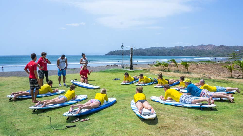 Panama retreat playa venao beach break surf lessons