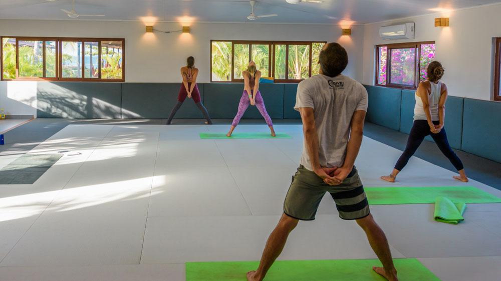 Panama retreat playa venao beach break yoga room