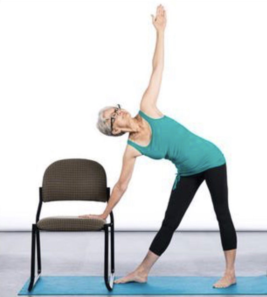 CHAIR YOGA SERIES WITH CHRISTINE
